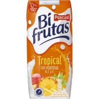 Bifrutas sabor tropical PASCUAL, pack 3x330 ml