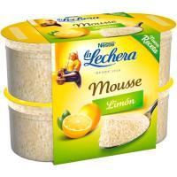 Mousse de limón NESTLÉ La Lechera, pack 4x60 g