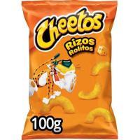 Aperitivo de maíz sabor a queso CHEETOS Rizos, bolsa 100 g