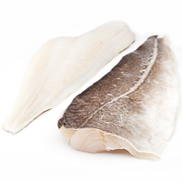 Filete de bacalao al punto de sal, al peso, compra mínima 500 g