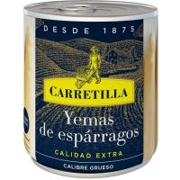 Yema de espárrago gruesa CARRETILLA, lata 135 g
