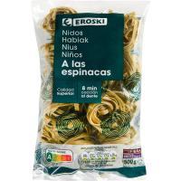 Nidos de espinaca EROSKI, paquete 500 g