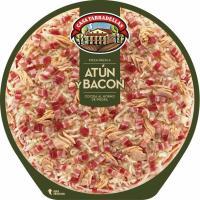 Pizza de atún-bacón CASA TARRADELLAS, 1 unid., 405 g