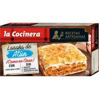 Lasaña de atún LA COCINERA, caja 530 g