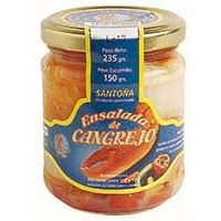 Ensalada de cangrejo SILVIA, tarro 130 g