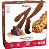 Barritas de chocolate KELLOGG'S Special K, 6 unid., caja 129 g