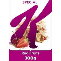 Cereales de frutas rojas SPECIAL K, caja 300 g