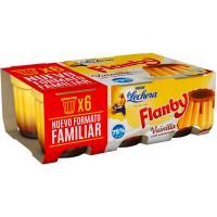 Flanby de vainilla NESTLÉ, pack 6x100 g