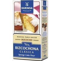 Harina bizcochona de trigo con levadura HARIMSA, caja 500 g
