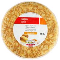 TORTILLA  DE  PATATA S/ CEBOLLA KG  EROSKI BASIC