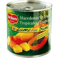 Macedonía de frutas DEL MONTE, lata 263 g