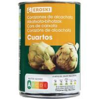 Alcachofa troceada en cuartos EROSKI, lata 240 g