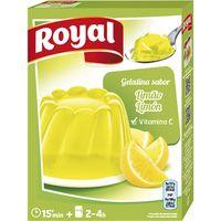 Gelatina de limón ROYAL, caja 170 g