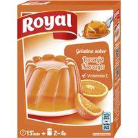 Gelatina de naranja ROYAL, caja 170 g