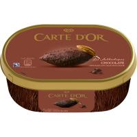 Helado de chocolate CARTE D'OR, tarrina 1 litro