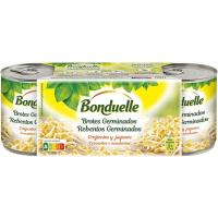 Brotes germinados BONDUELLE, pack 3x90 g