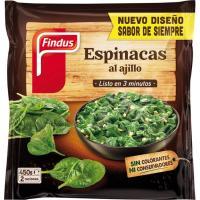 Espinacas al ajillo FINDUS Salto, bolsa 450 g