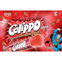 Helado de fresa CALIPPO, pack 5x105 ml