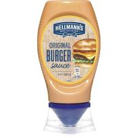 Salsa burger HELLMANN'S, bocabajo 250 g
