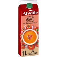 Gazpacho suave ALVALLE, brik 1 litro