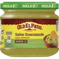 Salsa guacamole OLD EL PASO, frasco 320 g