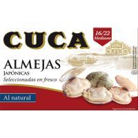 Almeja 16/22 piezas CUCA, lata 65 g