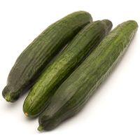 Pepino ecológico, bandeja 300 g