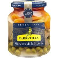 Menestra de verduras CARRETILLA, frasco 225 g