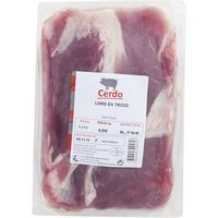 Cinta de lomo de cerdo trozo, bandeja aprox. 1.2 kg