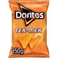 Nachos de maíz sabor a queso DORITOS Tex Mex, bolsa 150 g