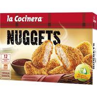 Nuggets de pollo con salsa barbacoa LA COCINERA, caja 350 g