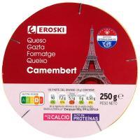 Queso Camembert EROSKI, caja 250 g