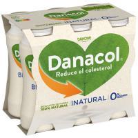 Danacol para beber natural DANONE, pack 6x100 ml