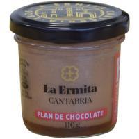Flan de chocolate LA ERMITA, tarro 110 g