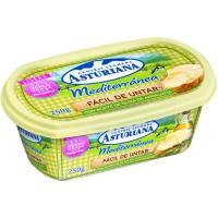 Mantequilla mediterránea ASTURIANA, tarrina 250 g