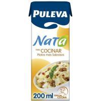 Nata para cocinar PULEVA, brik 200 ml
