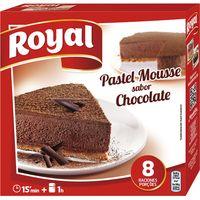 Pastel mousse sabor chocolate ROYAL, caja 225 g