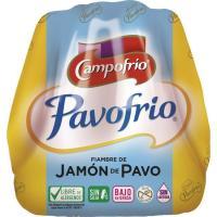 Jamón de pavo CAMPOFRÍO, al corte, compra mínima 100 g