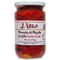 Pimiento de piquillo al ajillo J. VELA, frasco 290 g