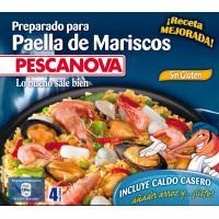 Preparado para paella de marisco PESCANOVA, bandeja 500 g