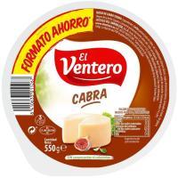 Queso tierno de cabra mini EL VENTERO, cuña 550 g