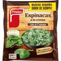 Espinacas a la crema FINDUS Salto, bolsa 450 g