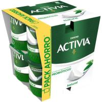 Activia natural DANONE, pack 8x125 g