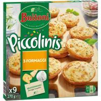 Piccolinis de 3 quesos BUITONI, caja 270 g