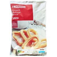Churros de lazo EROSKI, bolsa 500 g
