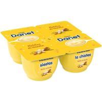 Natillas de vainilla DANONE Danet, pack 4x125 g