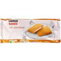 San jacobos EROSKI basic, bandeja 320 g