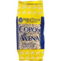 Copos de avena NATUR TIERRA, paquete 500 g