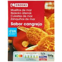 Muslito de mar EROSKI, caja 500 g