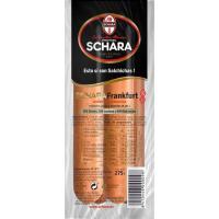 Salchichas Frankfurt SCHARA, sobre 275 g
